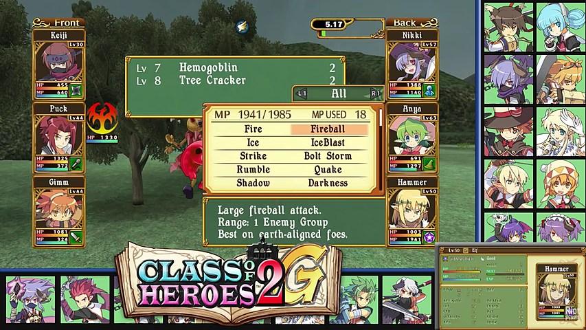 Геймплейный ролик из Class of Heroes 2G | Riot Pixels