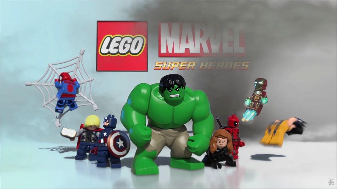 Пройденную лего марвел супергерои